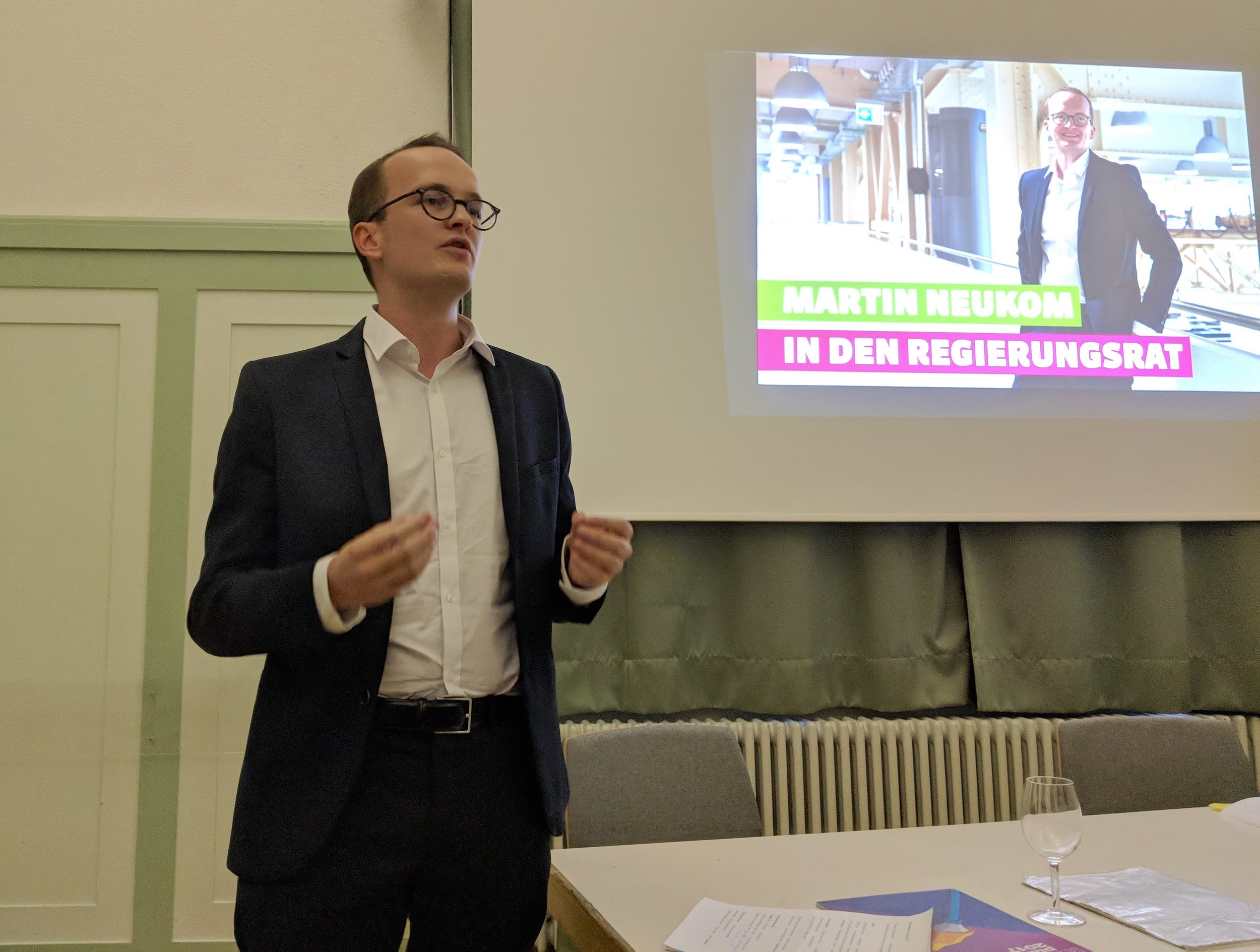 Nomination, 23.08.2018, Bild: Balthasar Glättli