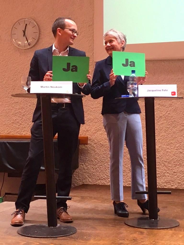 Podium KV Zürich, 26.02.2019