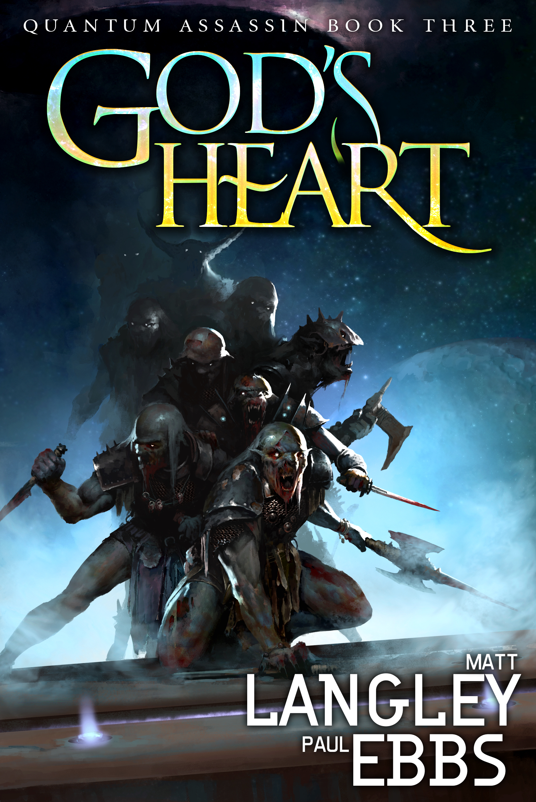 God's Heart   Quantum Assassin Book 3  Matt Langley, Paul Ebs