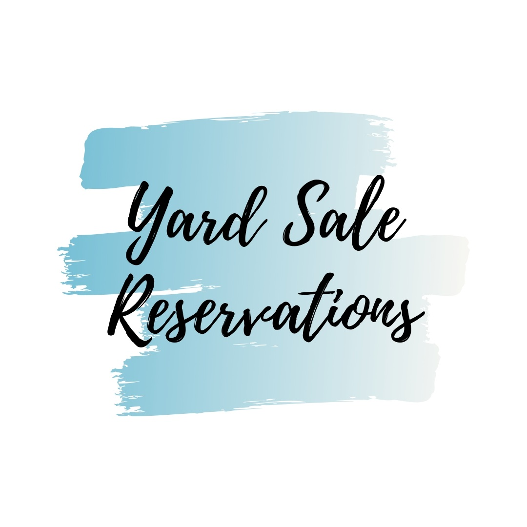 Yard Sale Reservations
