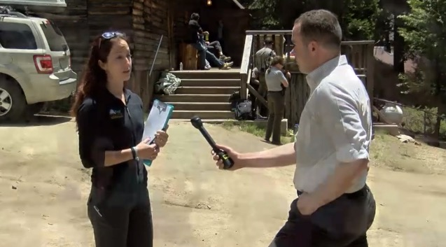 Being interviewed about the MCI Drill for local news. Link above.