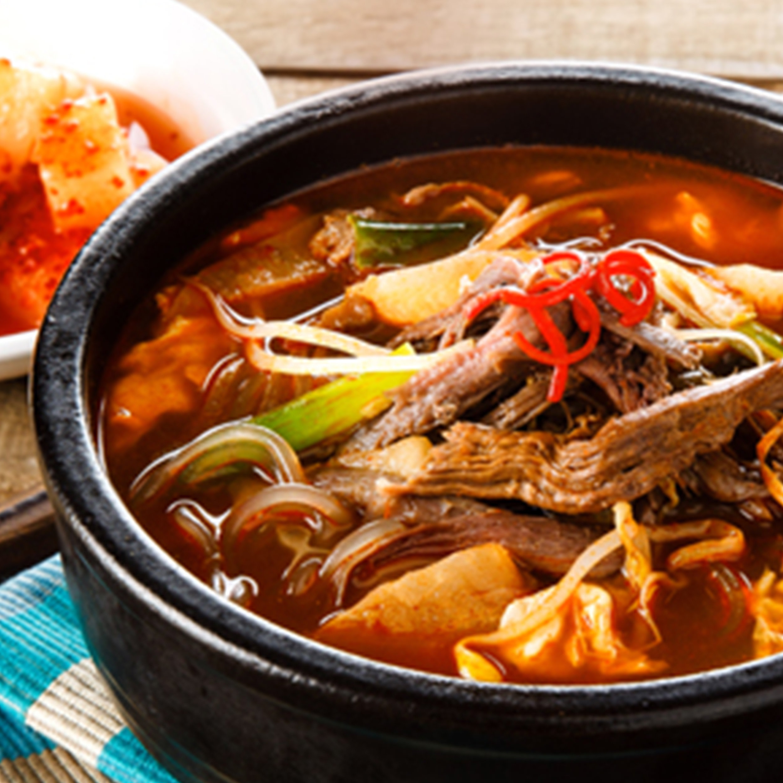 L14 Spicy Beef Stew Kimchi Korean Restaurant