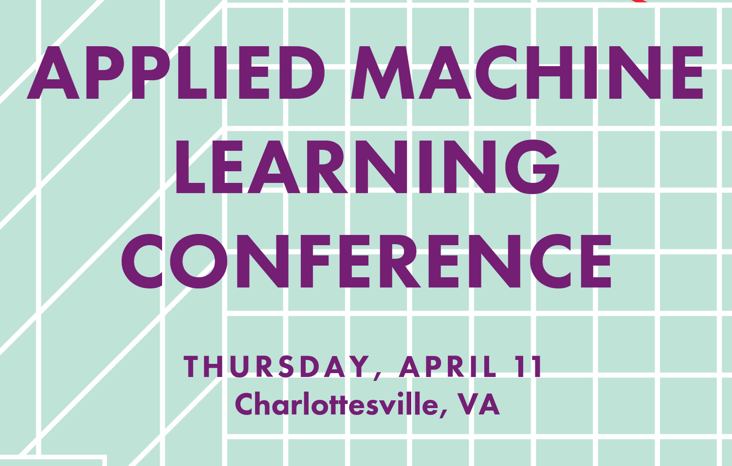 TOMTOM APPLIED MACHINE LEARNING CONF APR 11