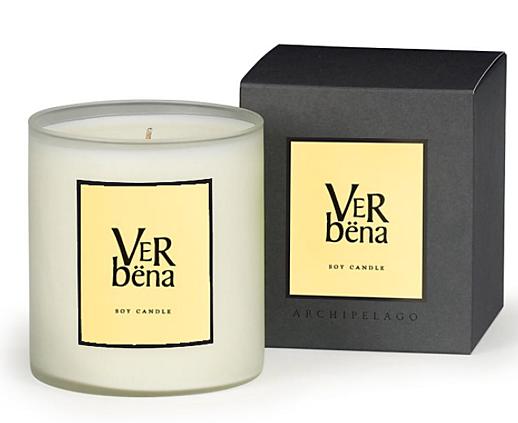 verbena candle archipelago botanicals