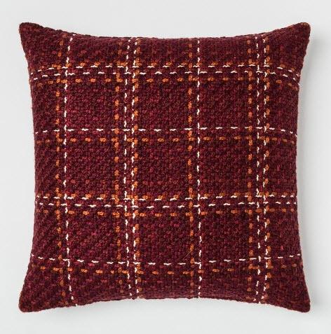 Plaid Oversize Square Throw Pillow Berry.jpg