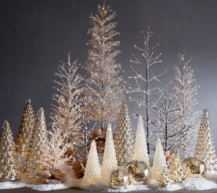 Pottery Barn Pre-Lit Snowy Crystal Trees.jpg
