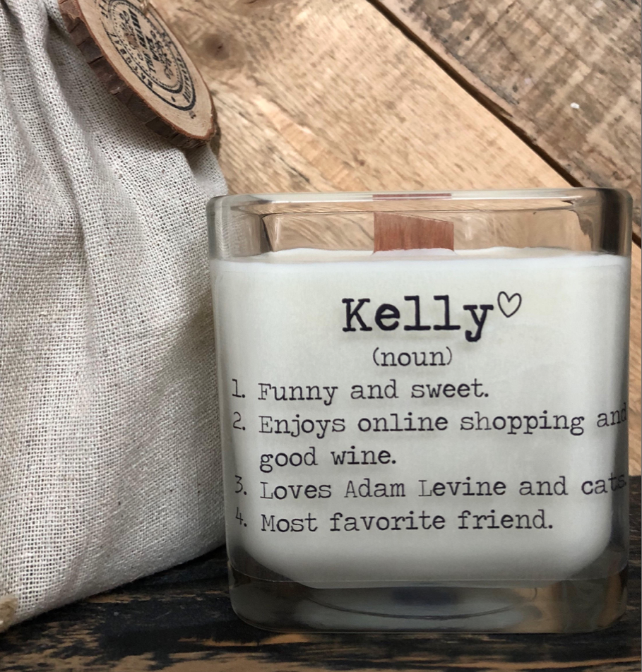 Personalized Friend Gift : Gift For Her : Gifts For Friends : Friend Birthday Gifts : Soy Candle : Personalized Candle : Personalized Gift.png