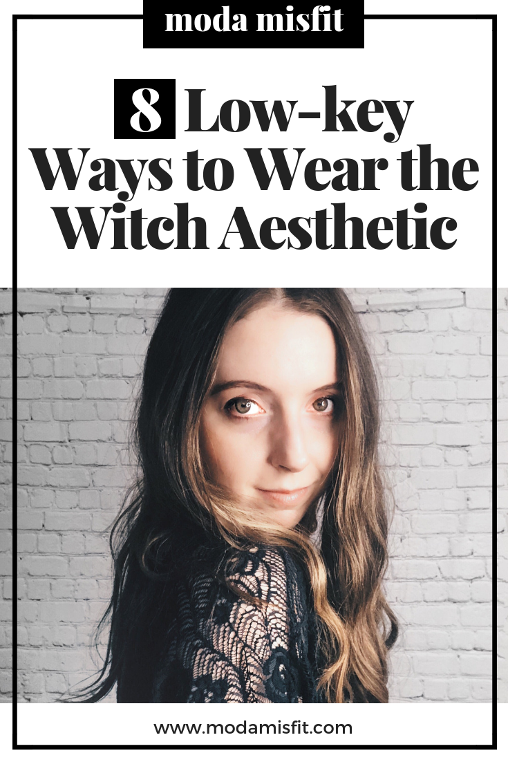 Getting witchy with it.