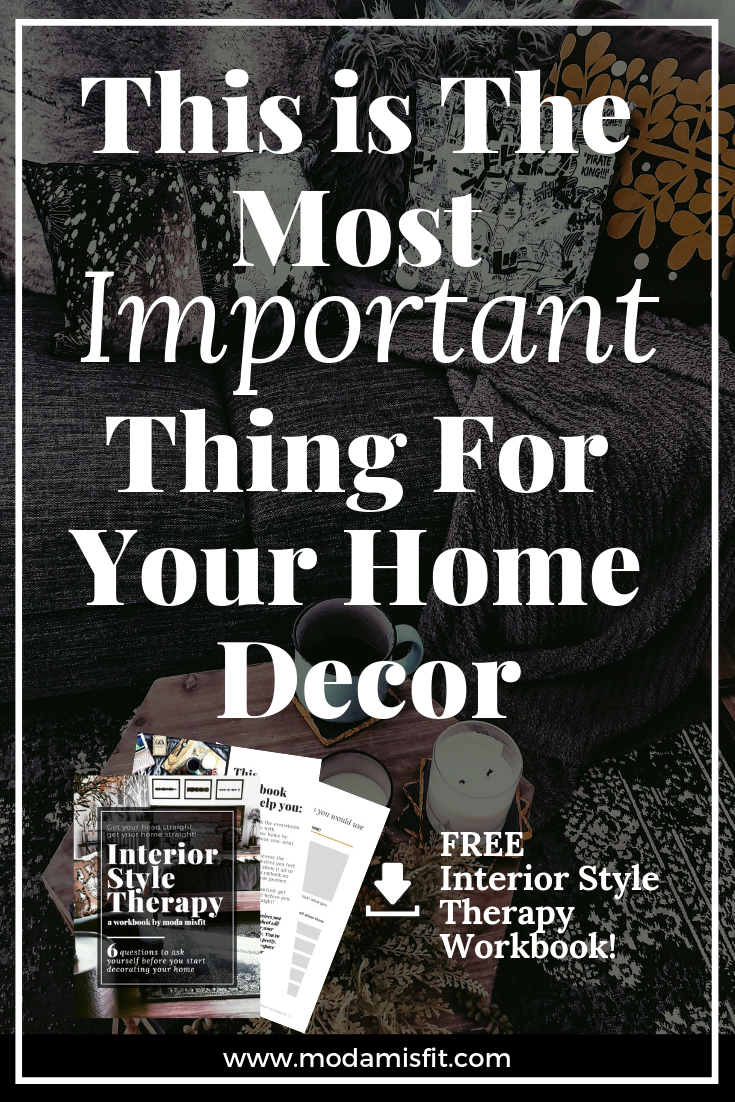 The most important thing for your home decor!