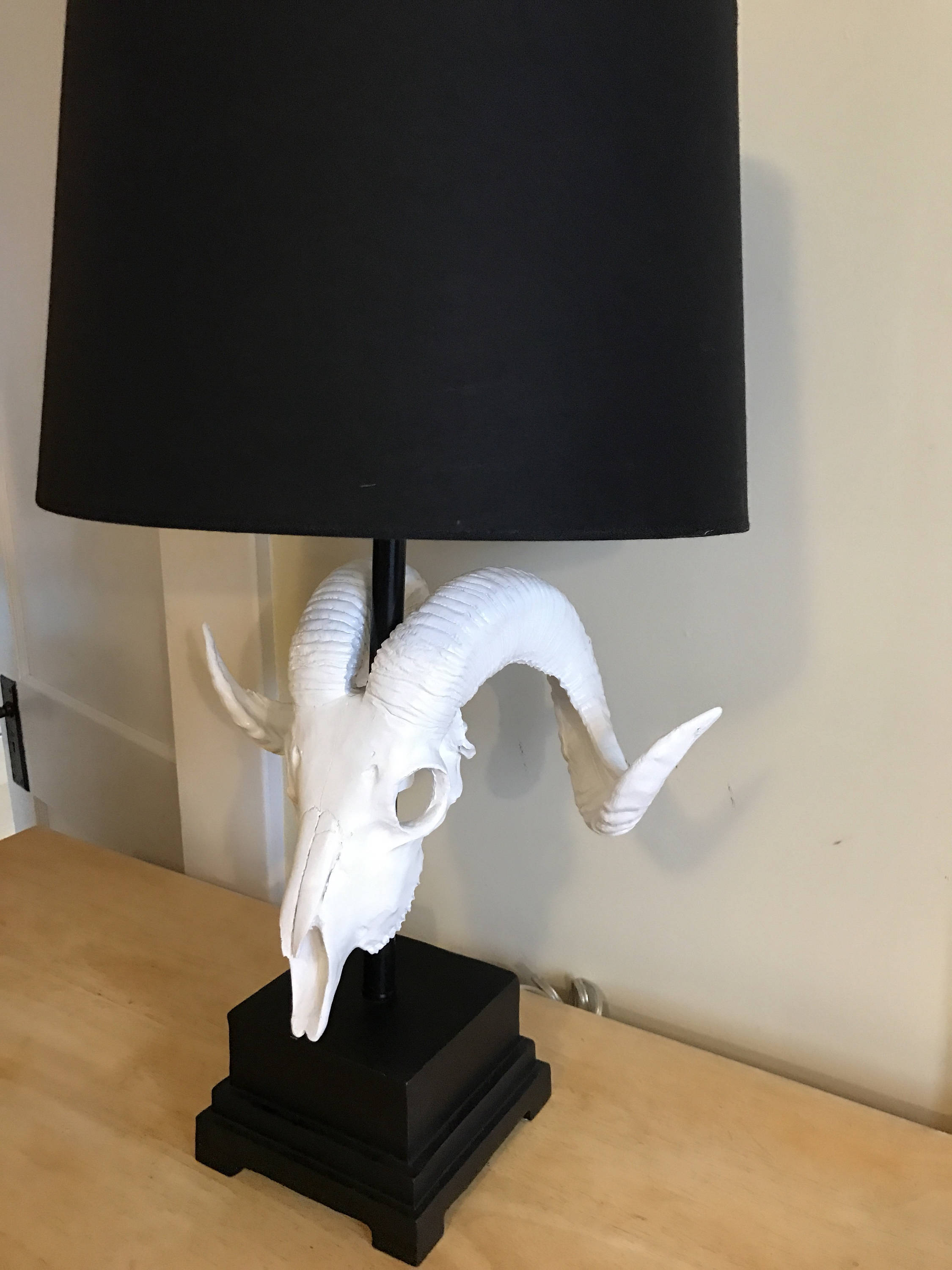 Etsy - Rams Head Lamp
