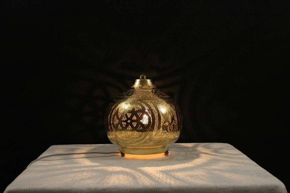 Etsy - Premium Handmade Moroccan Table Lamp
