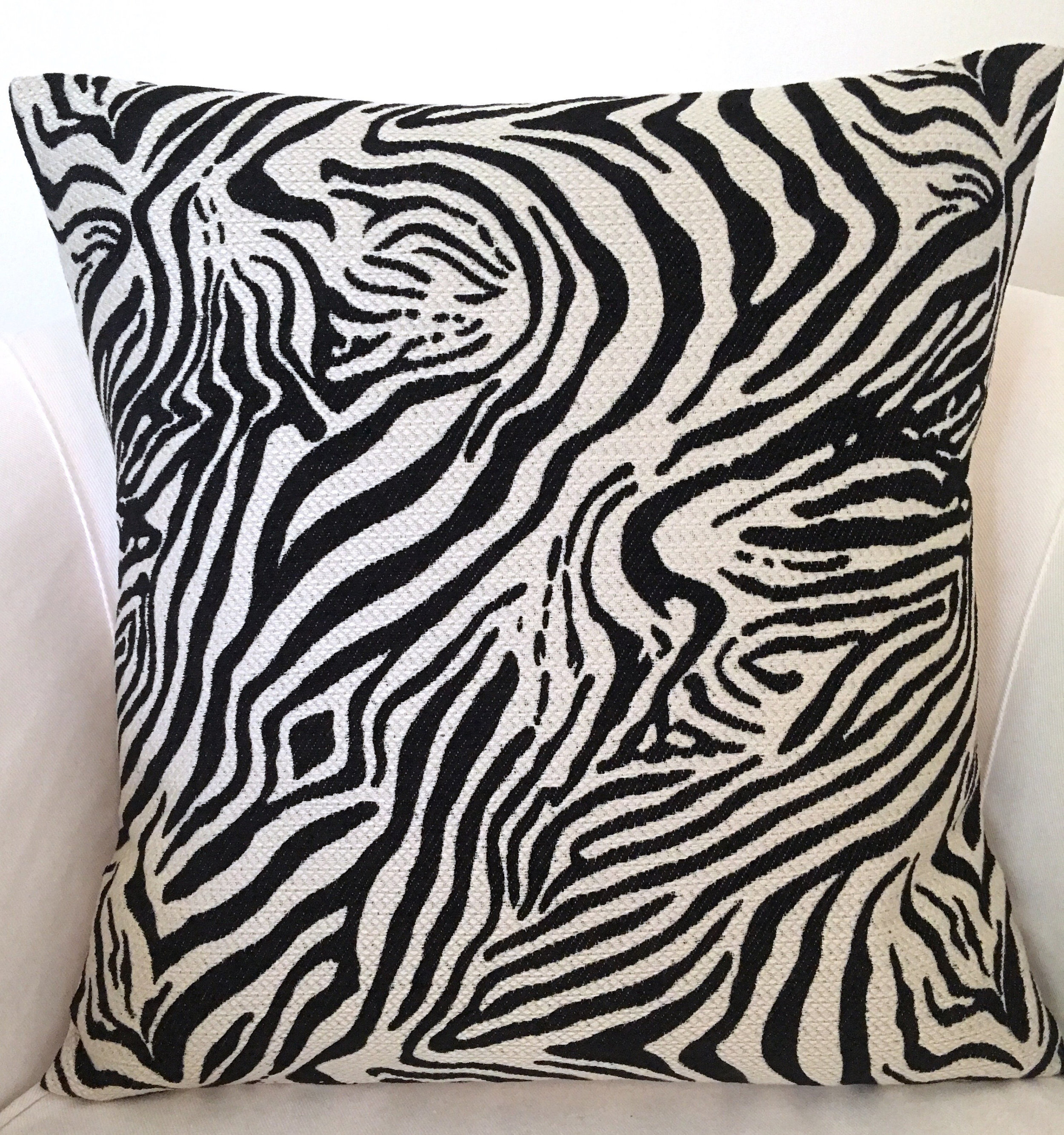 Etsy - Zebra Pillow Cover