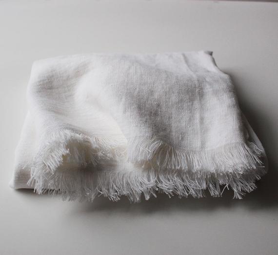 Etsy - Linen Throw Blanket
