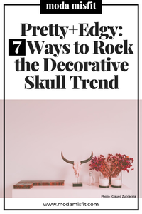 How to rock the decorative skull trend in your dark home decor.
