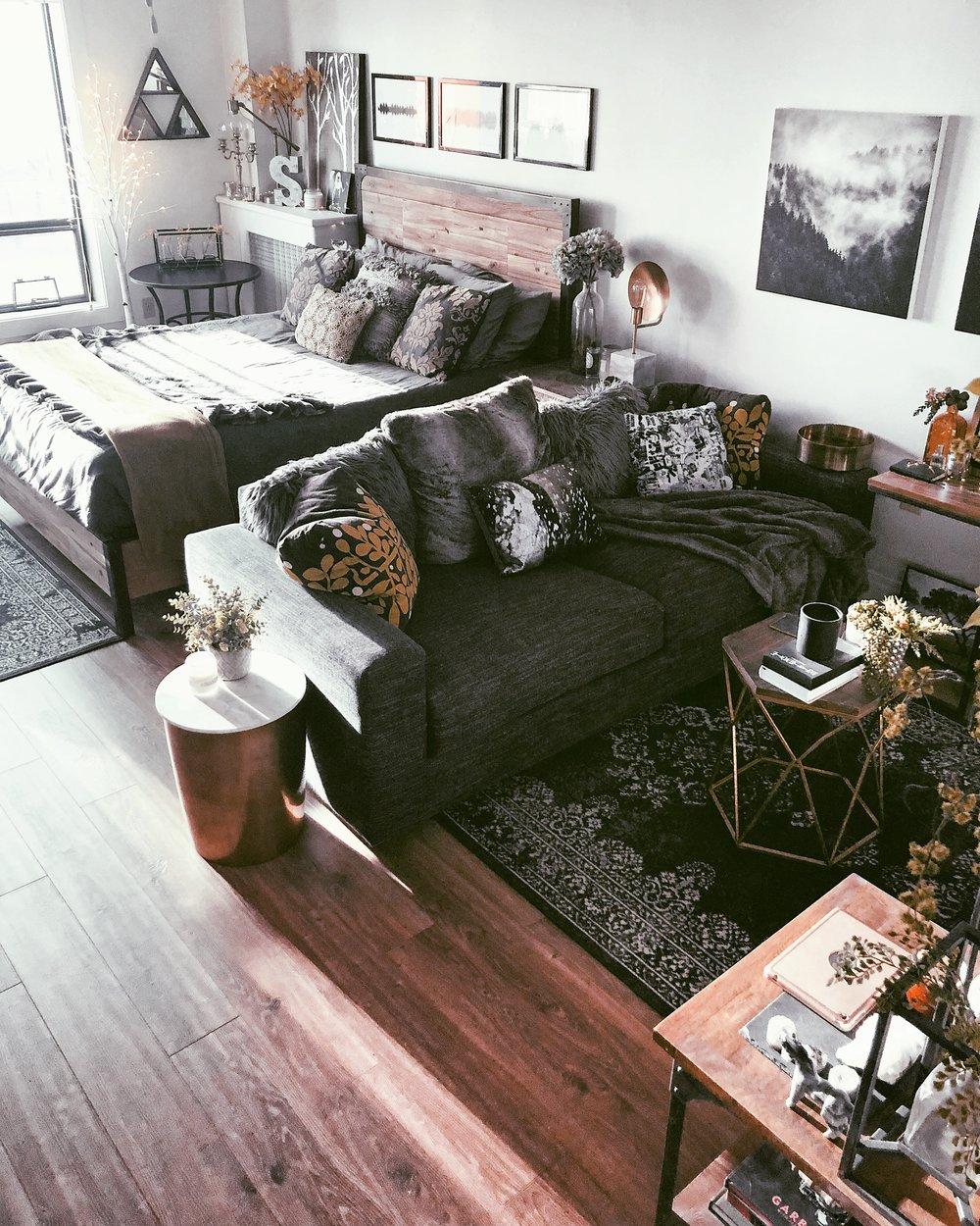 5 Tips For Styling A Studio Apartment Moda Misfit,Deep Kitchen Drawer Organizer Ikea