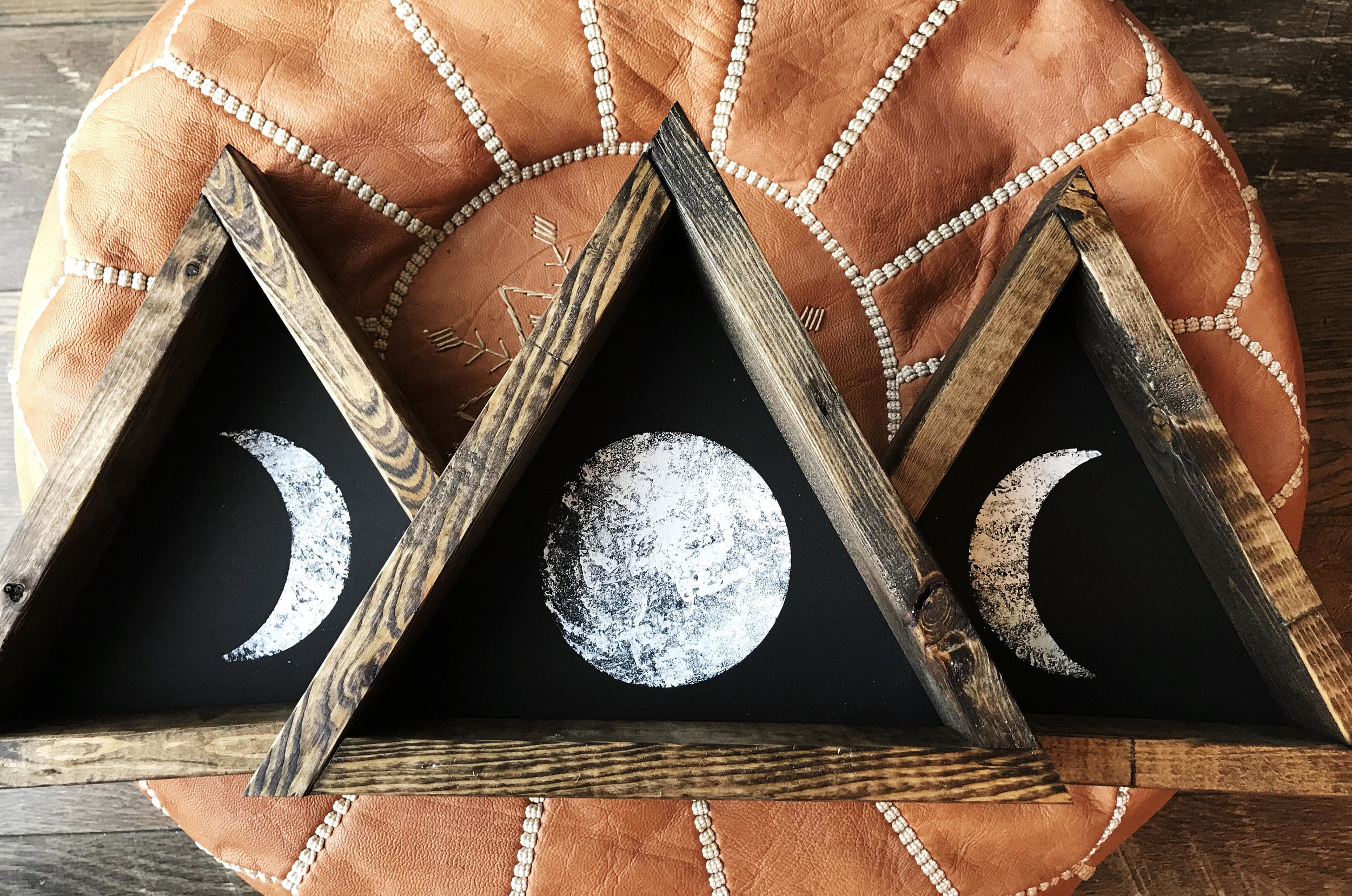 Moon Trio - Wood Signs by Northwood Supply
