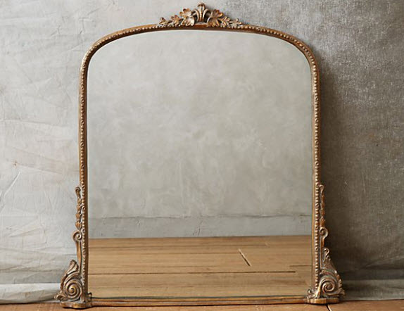 Gleaming Primrose Mirror - Anthropologie