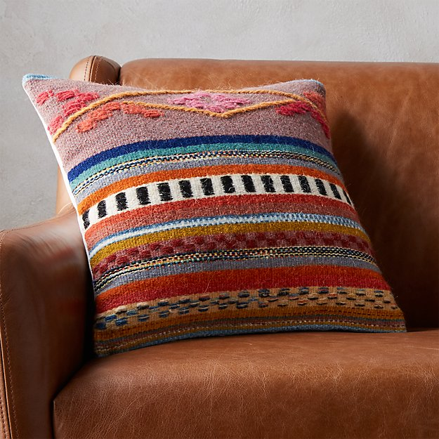 "16"" cusco pillow - CB2"