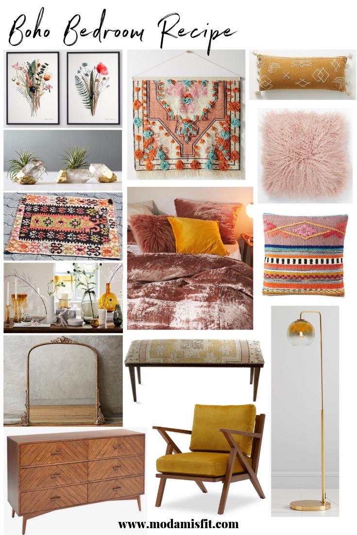 Boho Bedroom Recipe How To Create A Fun Shamelessly Colorful Room Moda Misfit