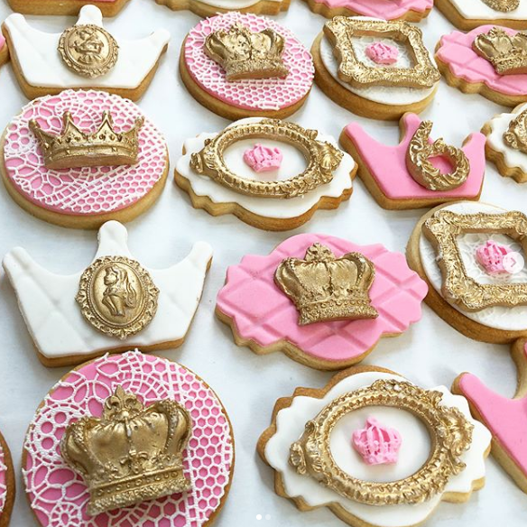 SUGAR COOKIES - Who can say no to cookies? Soft, chewy and baked just right. These are your classic sugar cookies decorated with royal icing or covered in fondant.