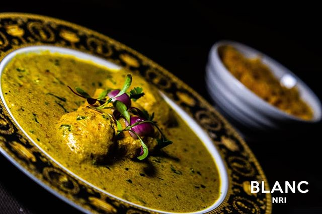 🥘 Our Chicken Dhaniwal Korma. Guaranteed to tickle your tastebuds😋 #blancnri #openingsoon