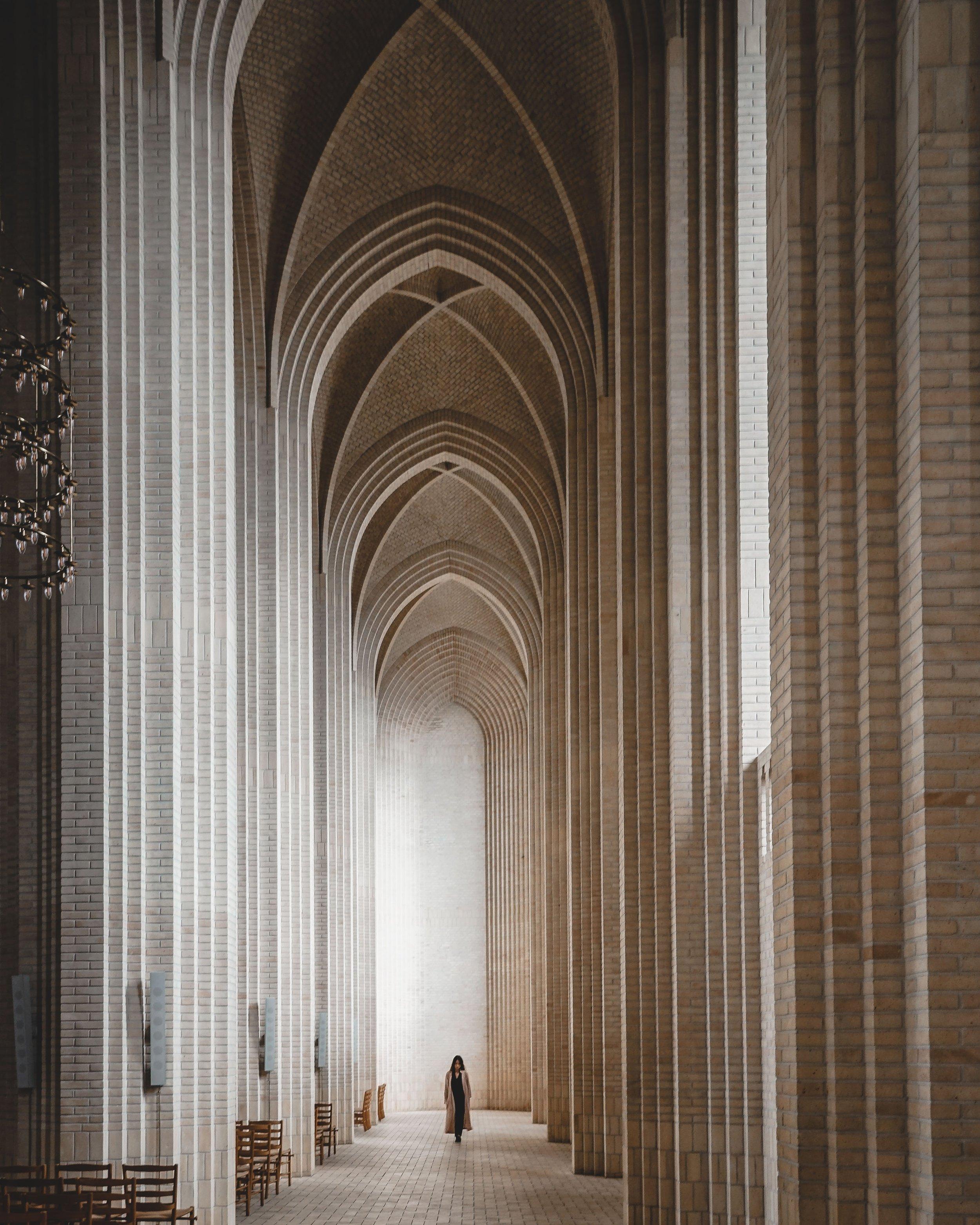 Copenhagen Church Silhouette