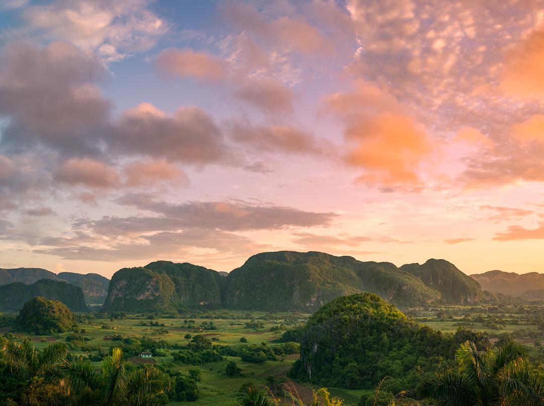 Vinales Valley Cuba Sunset
