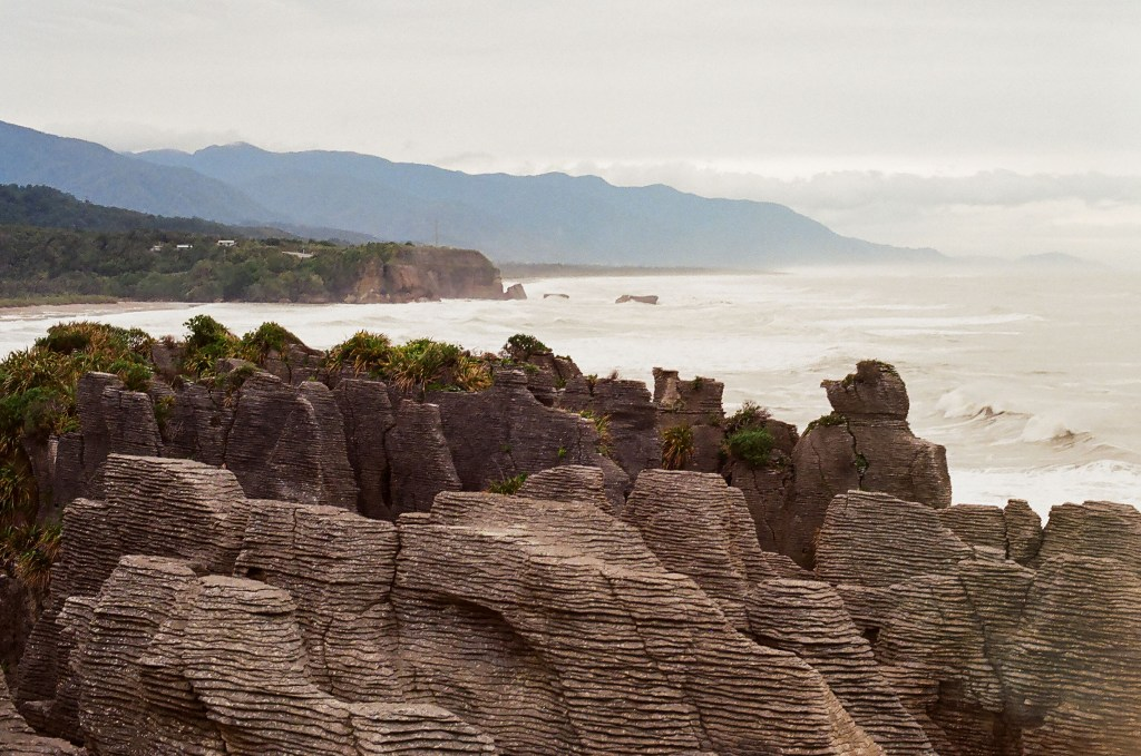 Punakaiki Pancake Rocks, New Zealand South Island