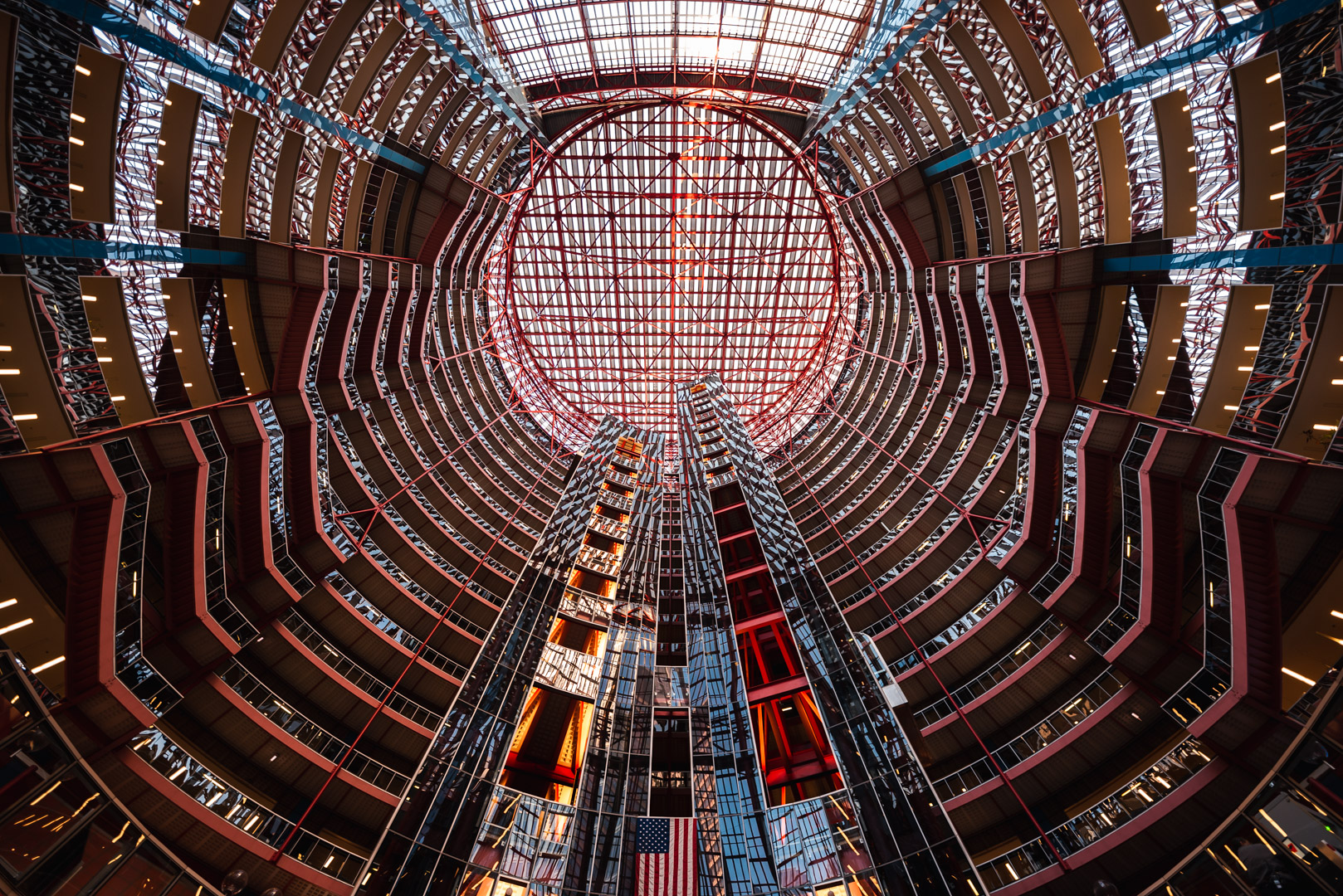 James R. Thompson Center Chicago Loop Lookup Urban Street Chicago City Illinois Federal Government
