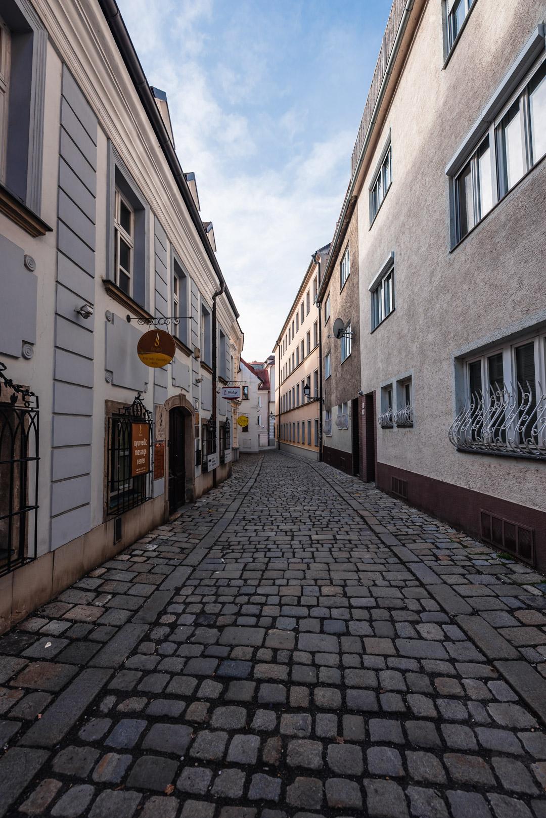 Bastova Street Bratislava Slovakia Urban City Eastern Europe