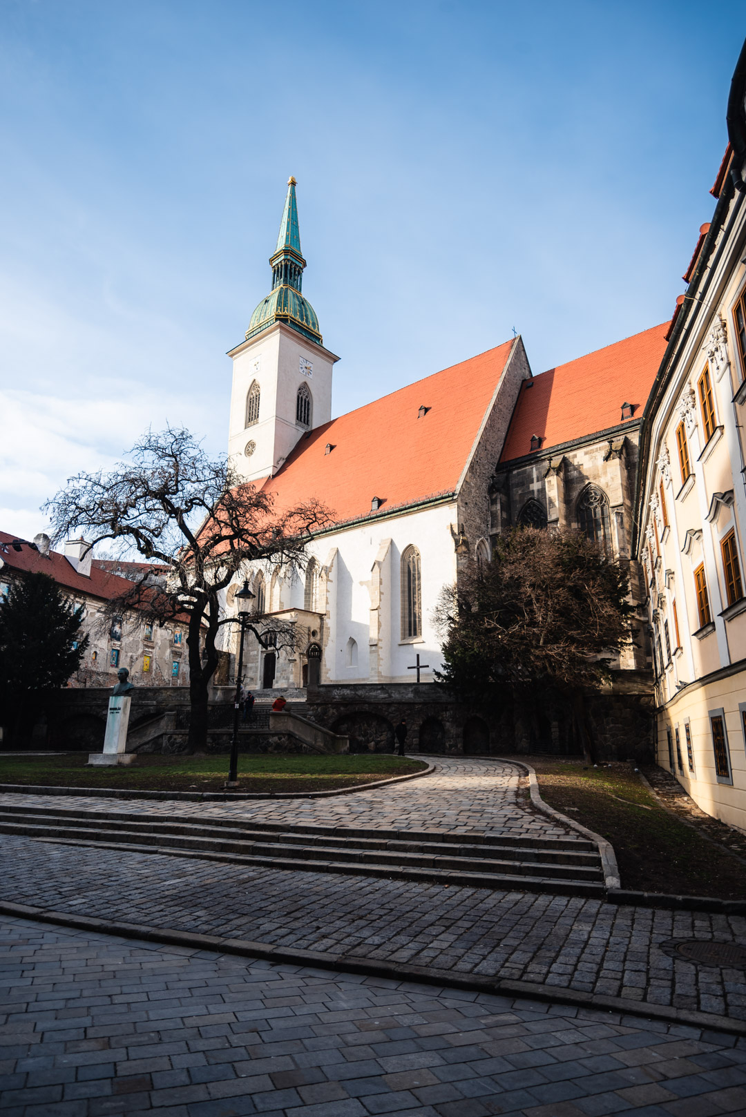 Saint Martin's Cathedral Gothic Bratislava Slovakia Urban City Eastern Europe