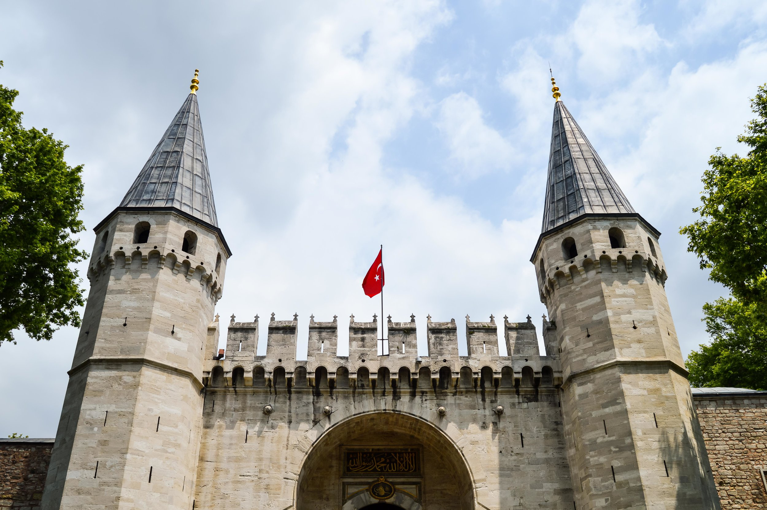 Topkapi Palace Muslim Ottoman Empire Constantinople Architecture Istanbul Turkey