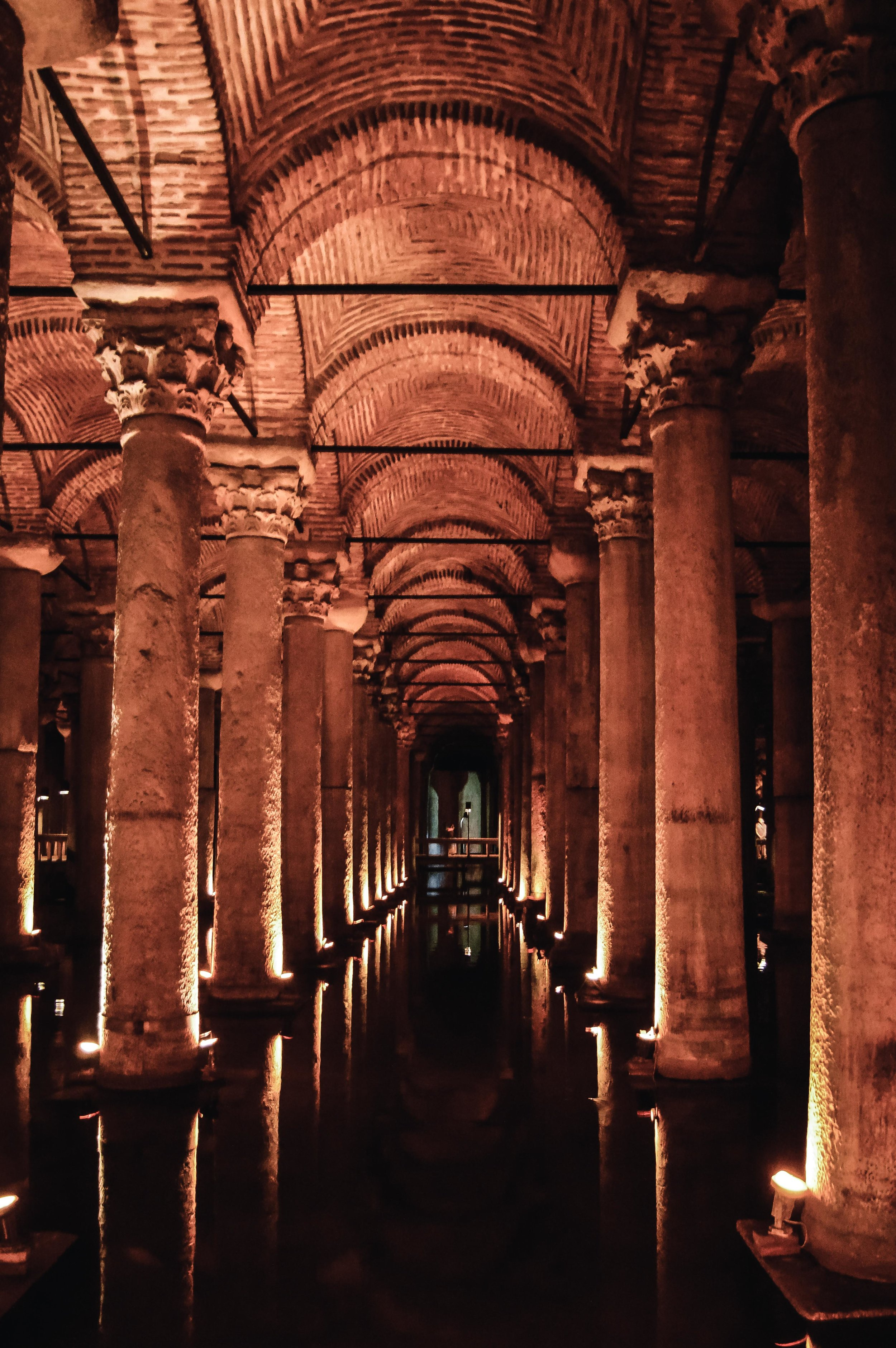Basilica Cisterns Muslim Ottoman Empire Constantinople Architecture Istanbul Turkey