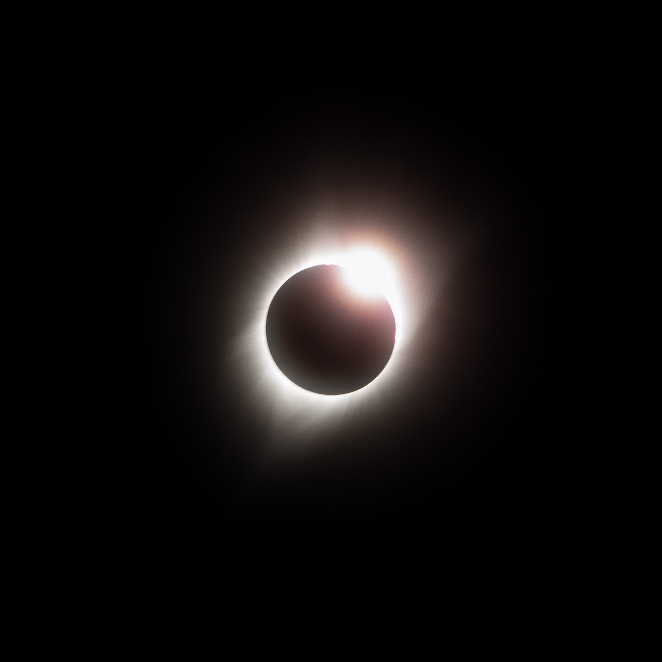Photo Taken by  Mike Lindle  - The Diamond Ring Appears During Totality of a Solar Eclipse