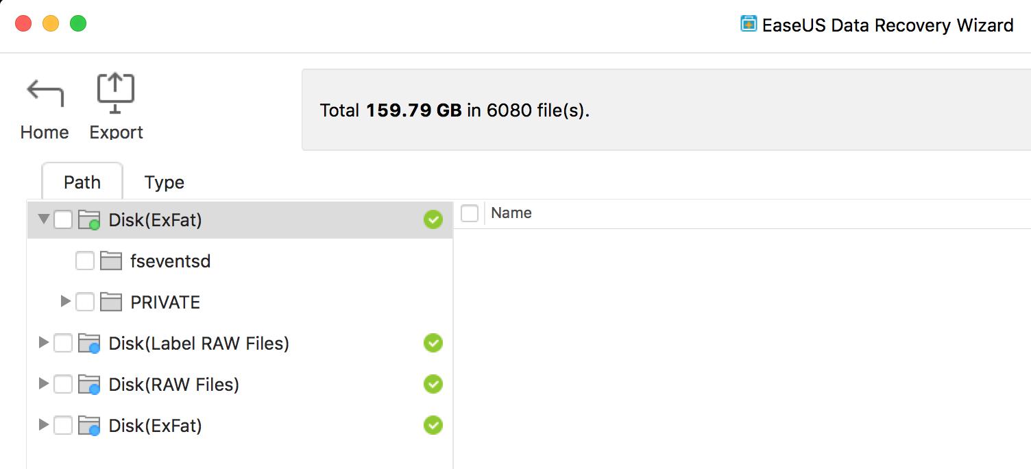 Ease Us Screenshot Data Recovery