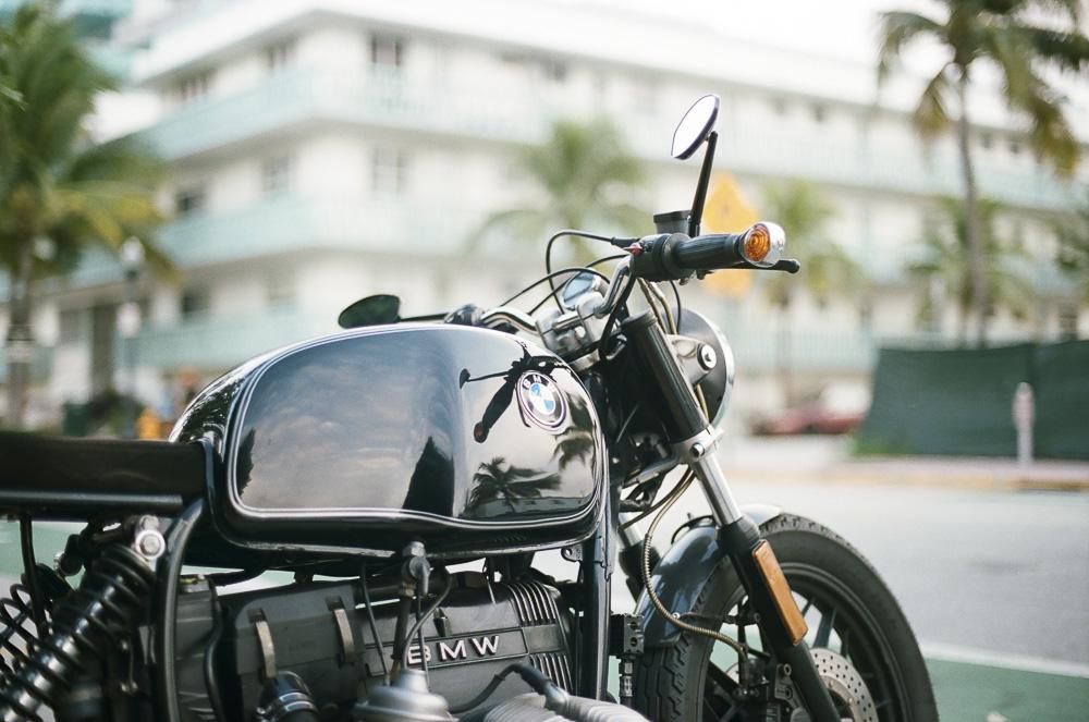 Miami BMW motorcycle