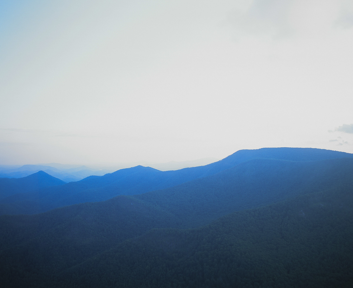 Nantahala National Forest - very over exposed