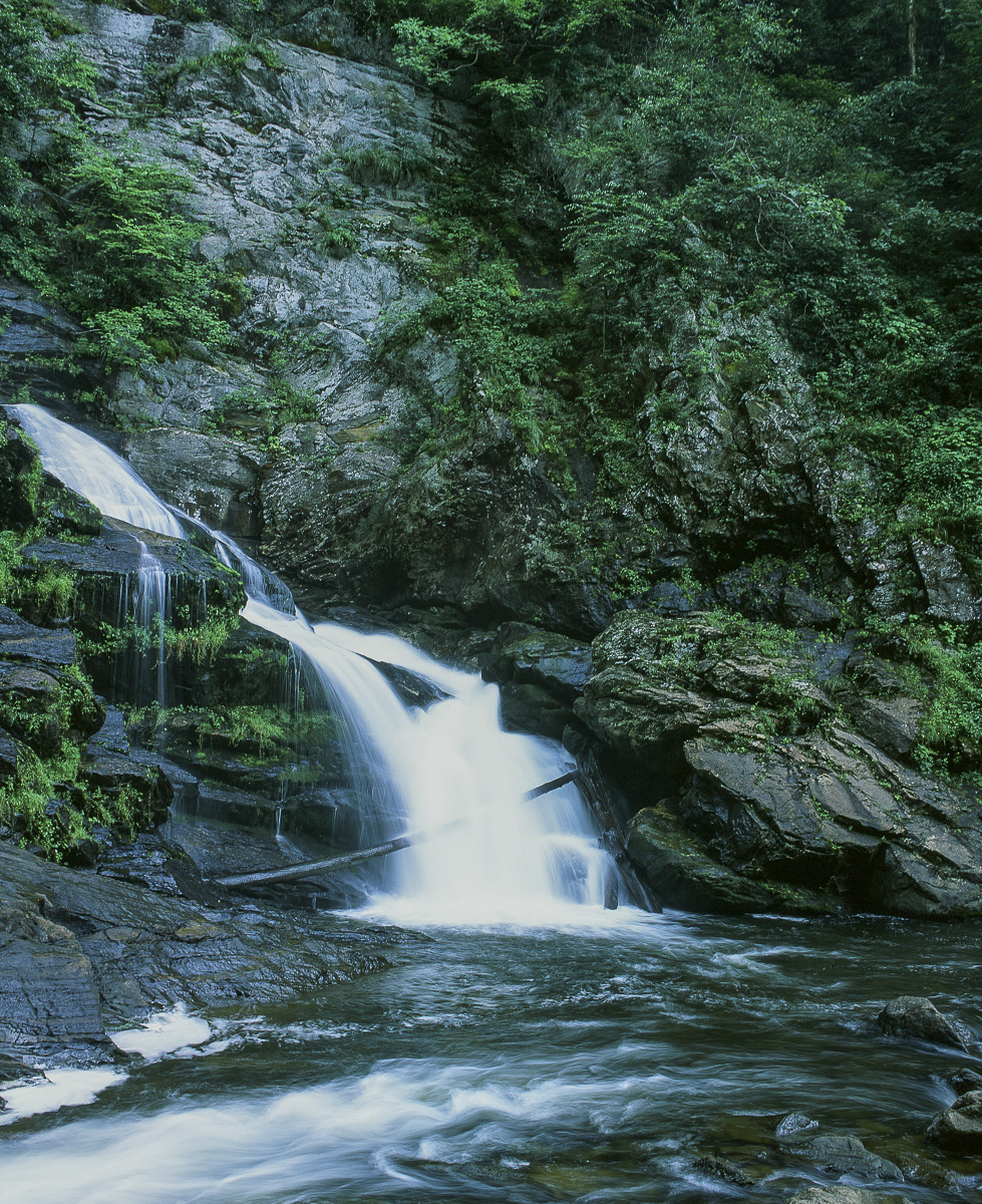 Portion of Cullasaja Falls