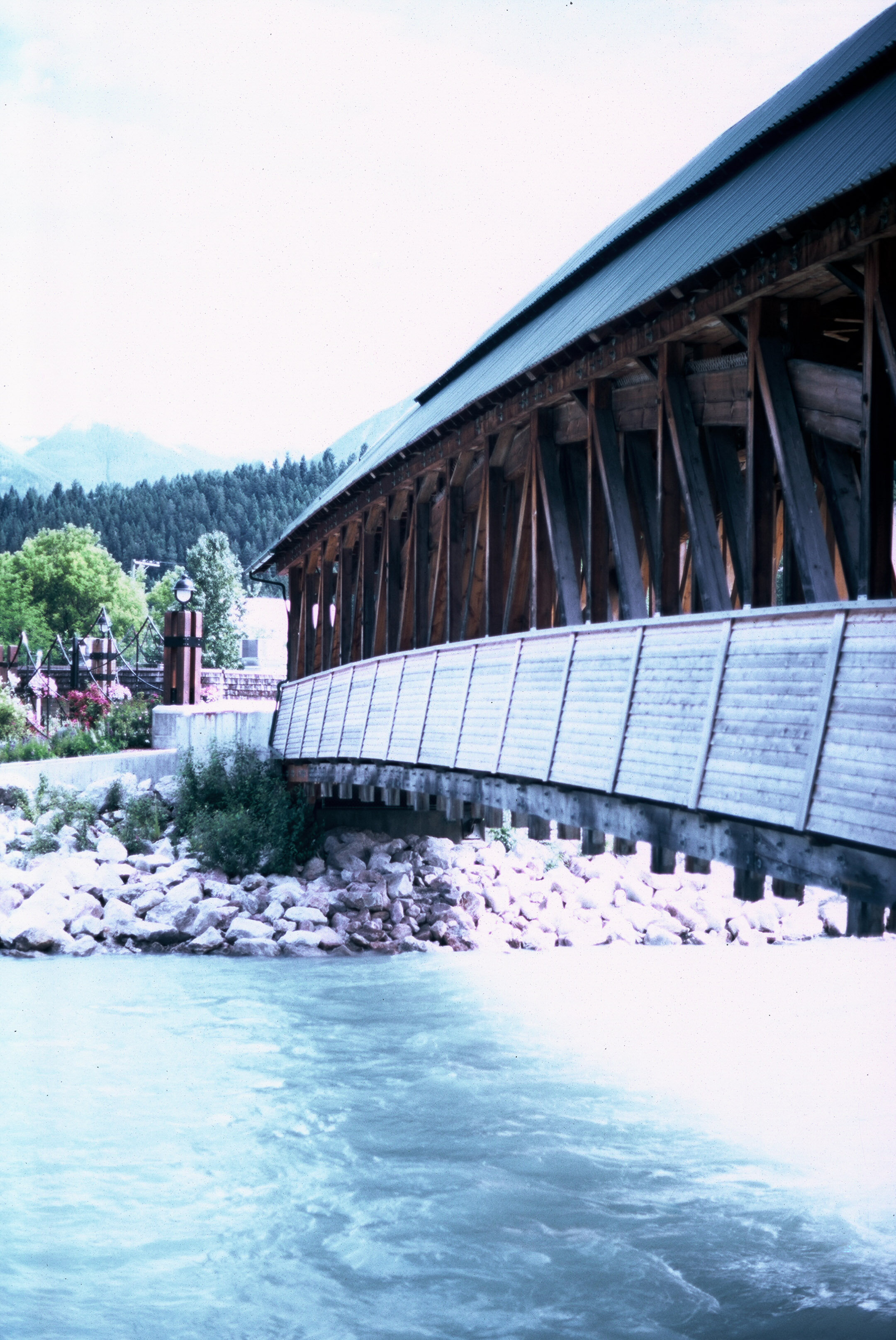 Canadian Rockies Banff Jasper Alberta Mountains 35mm SLR Canon A1 Sample Provia 100f Film Golden