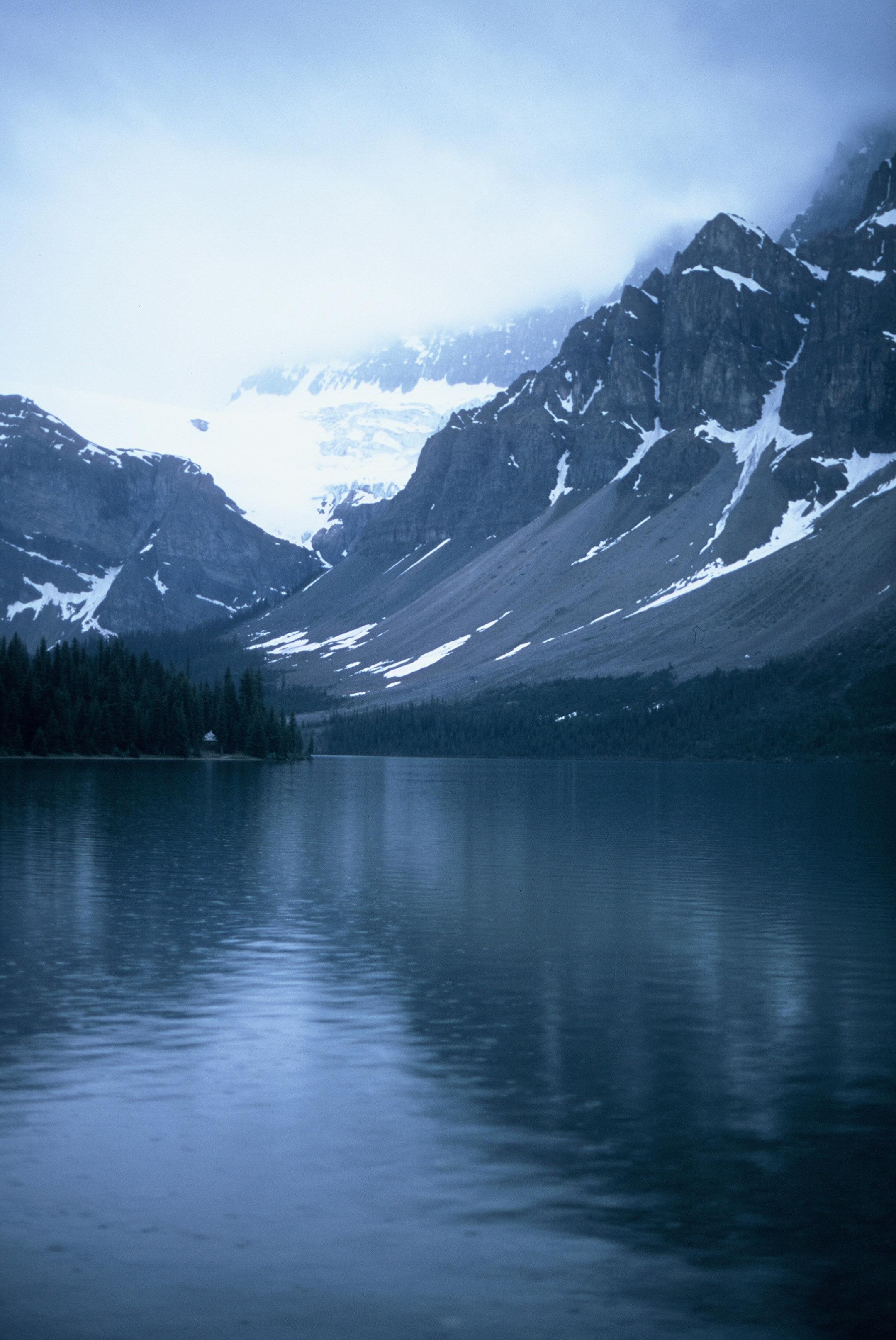 Canadian Rockies Banff Jasper Alberta Mountains 35mm SLR Canon A1 Sample Provia 100f Film Lake