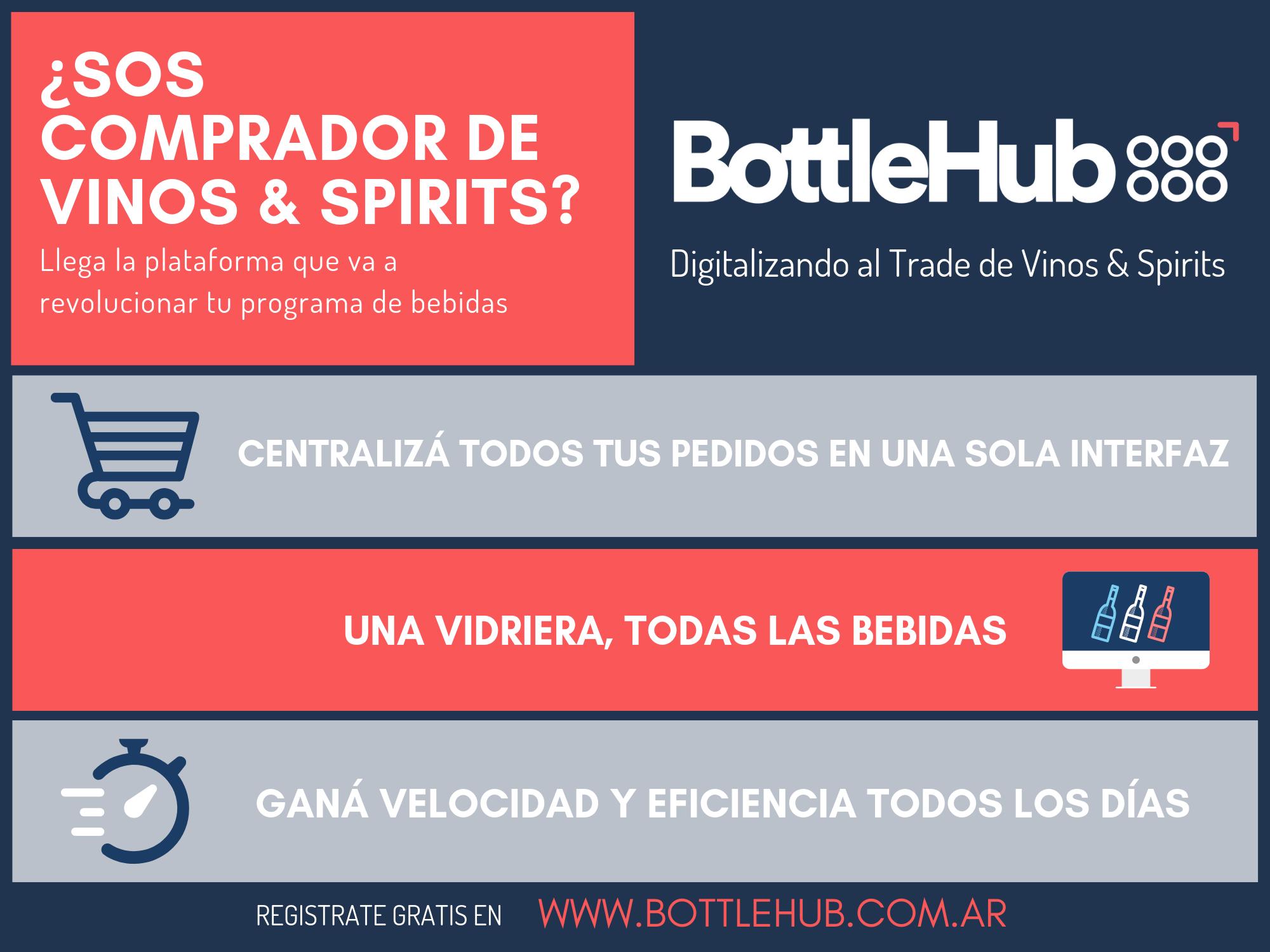 "BottleHub invita - El martes a las 16:40 en el ""Espacio de talleres 2"" de BAC Inspira, la plataforma digital BottleHub presenta una charla sobre"
