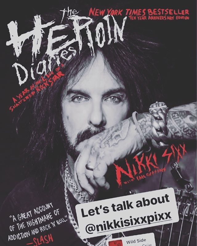 Did you hear @nikkisixxpixx on #themomconfidential podcast with @citygirlgonemom? Do yourself a favor and check it out 🤟🏽 . . . . #podcast #sandiegopodcast #addiction #recovery #motleycrue #theheroindiaries
