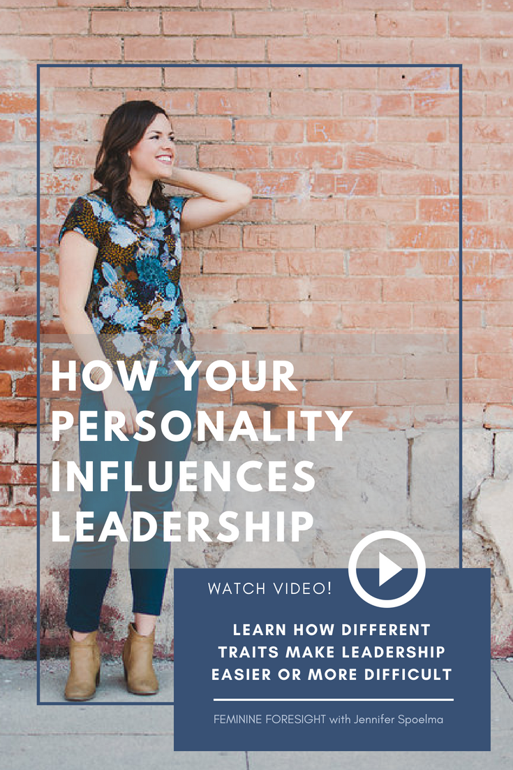 << Pin it! - Personality has a big influence on how you view yourself and the way you respond to situations.Because of this, it also largely influences our Leadership Self-Efficacy - or our belief in our own leadership abilities.In this episode of Feminine Foresight, we look at the Big Five Personality Theory traits and discuss how the positively, or negatively, influence Leadership Self-Efficacy. Check it out!