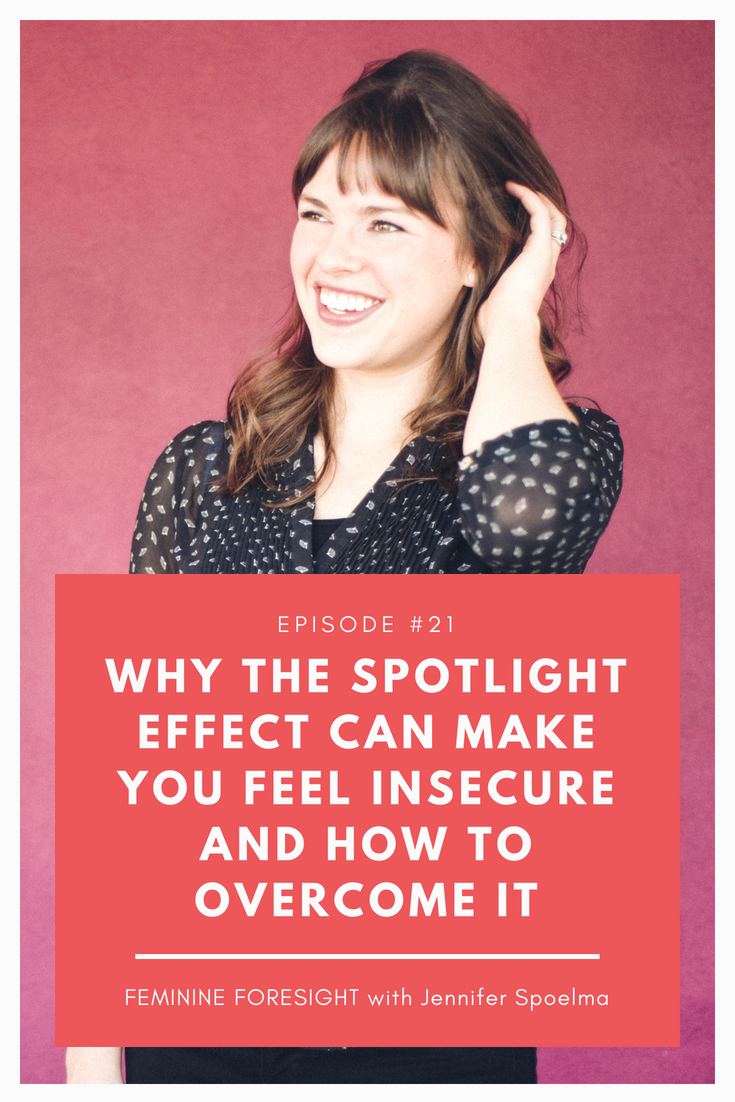 Why the spotlight effect can make you feel insecure and how to overcome it