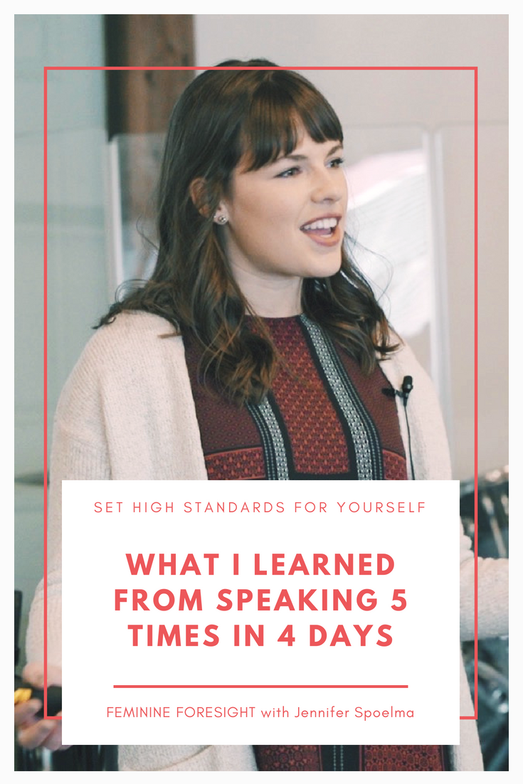 What I learned from speaking five times in four days | Jennifer Spoelma