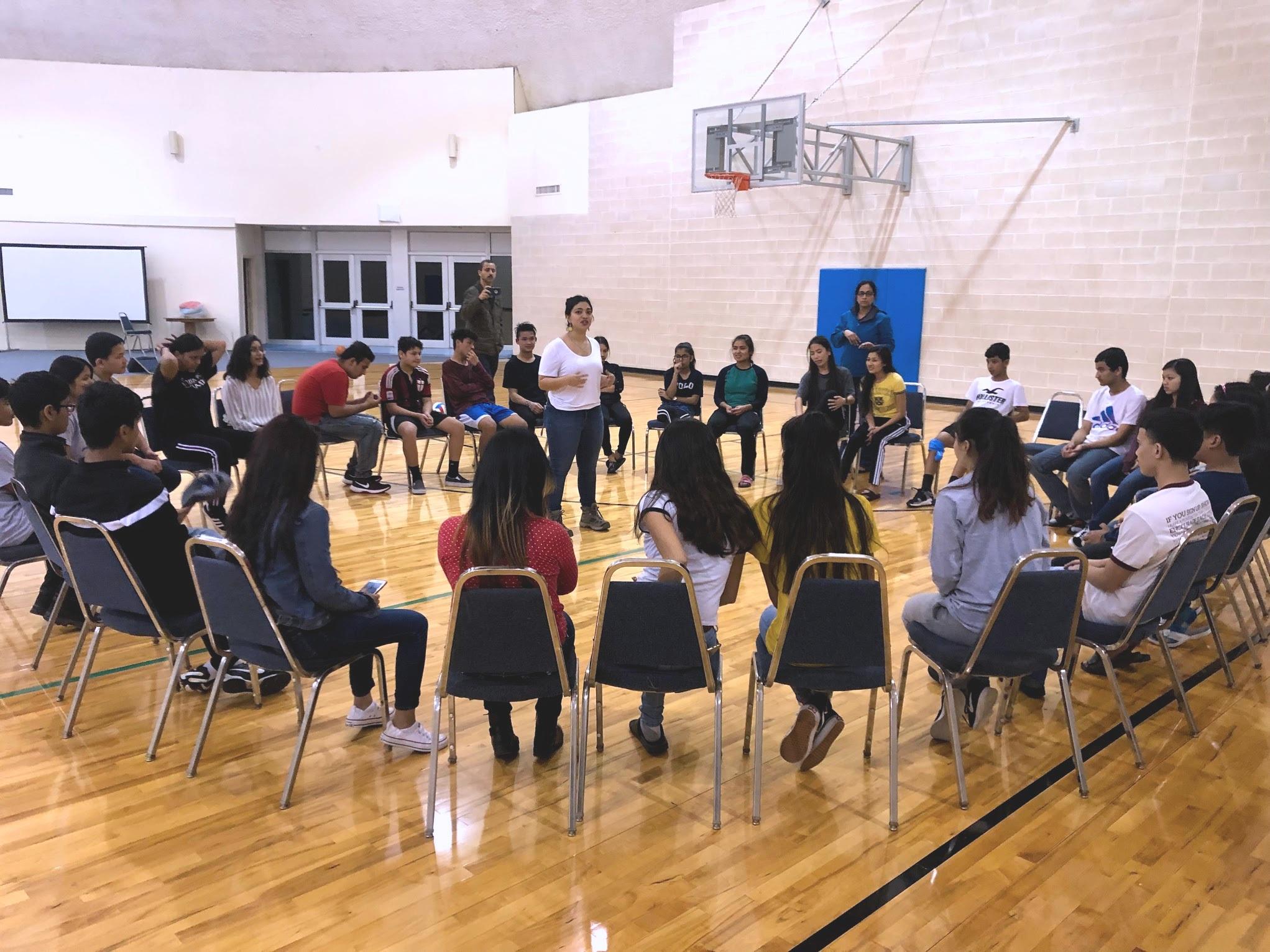 Shakti Workshop with Bhutanese Hindu Refugee Kids in Texas, March 2019