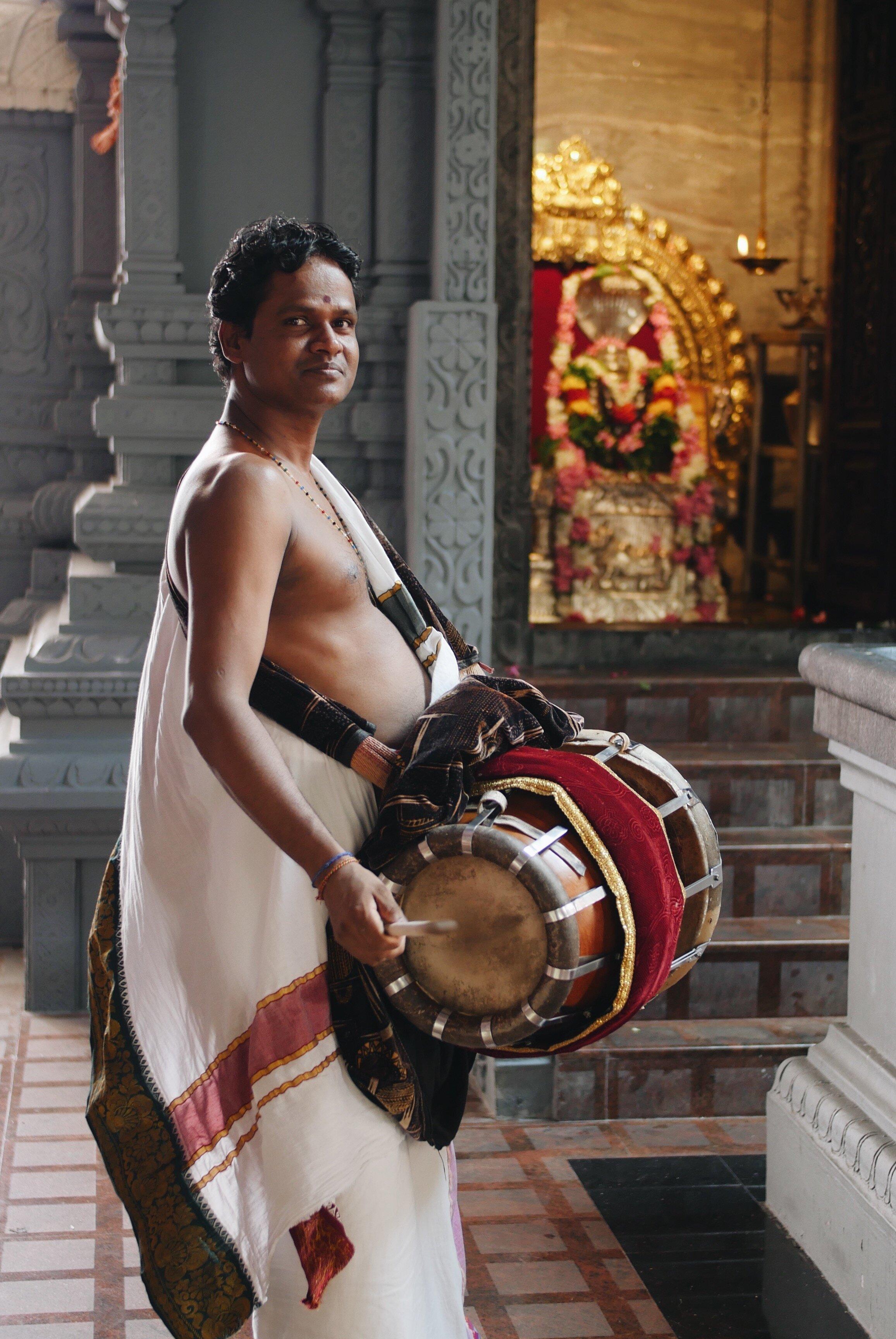 A Shakta Archaka at a Goddess Temple