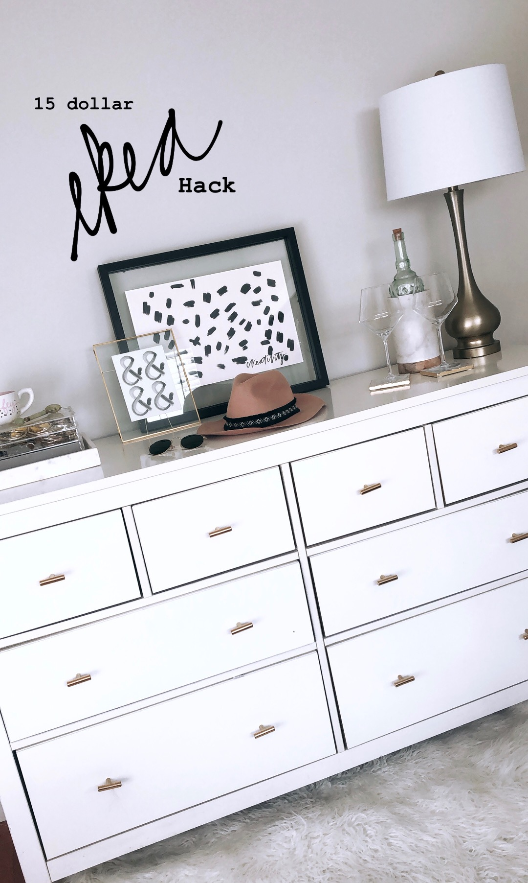 Ikea Hack Dresser Revamp For 15 Staged By Ana Egger
