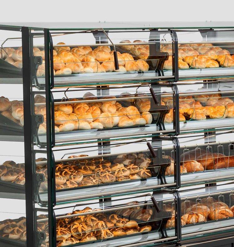 Baking displays
