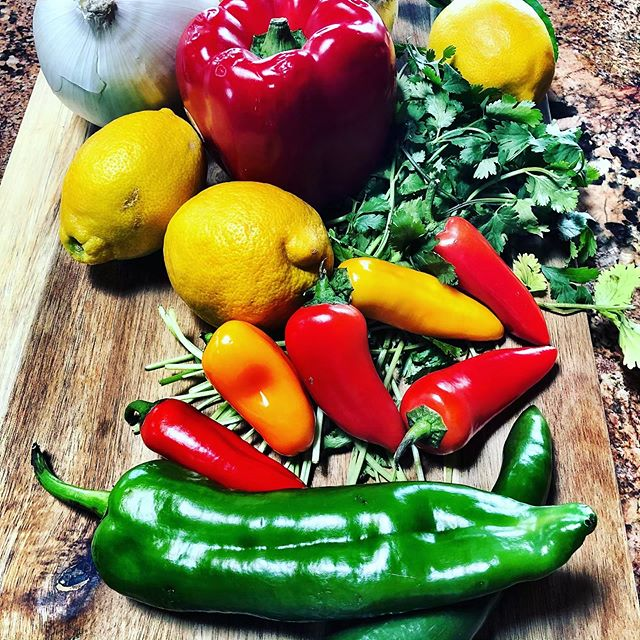 The start of something great...what are you cookin' this week?  #simplicity #recipes #bestmexicanfood #healthyfood #cooking #fresh #dinner #salsa #tacos #sauce #burrito #selfcare #texas #cookingwithlove  #healthylifestyle #recipes #agriculture #arizona #cookbook #newmexico #texmex #tacos #chile  #texas #mexicanfood  #healthyeating  #instagram #instagood #instafood #food #summer #cooking #homecooking #lowcarbrecipes